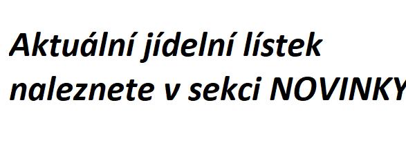 WEB-JÍDELÁK